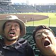 初の甲子園球場&大坂