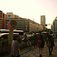 横浜近辺にて撮影中