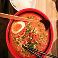 東京の雪の現実-そしてラーメン食べたら太る現実。