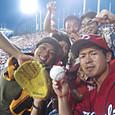 神宮球場3連戦!!ホームランボール!!
