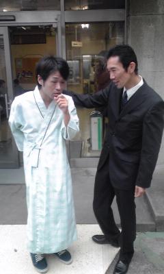 新宿で撮影